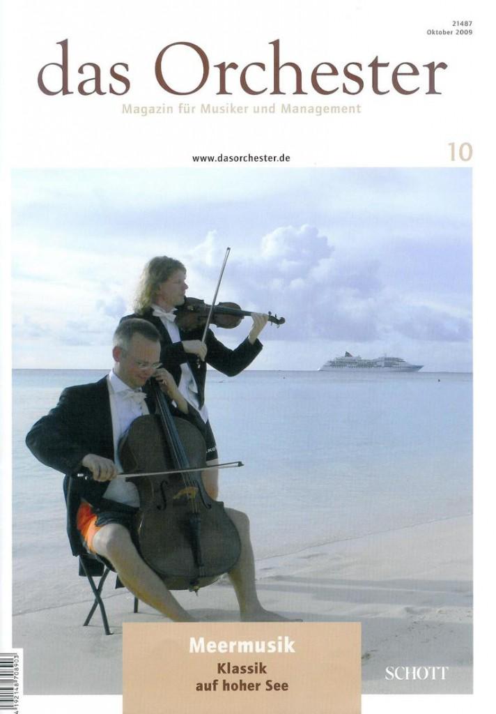 Das Orchester 10/2009