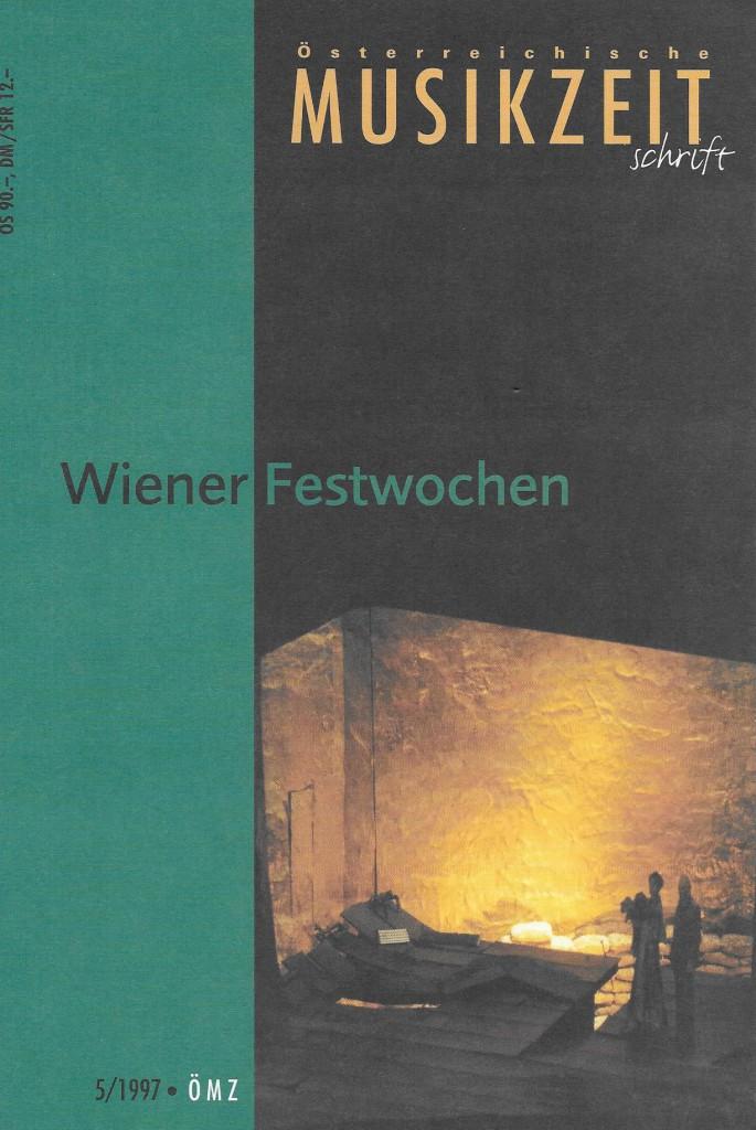 Österreichische Musikzeitschrift 5/1997