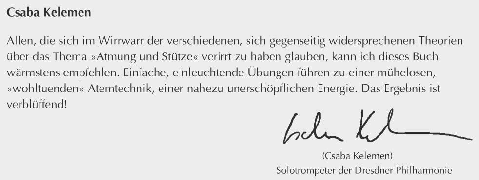Csaba Kelemen, Solotrompeter der Dresdner Philharmonie