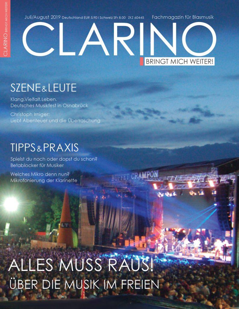 CLARINO 7/8 2019