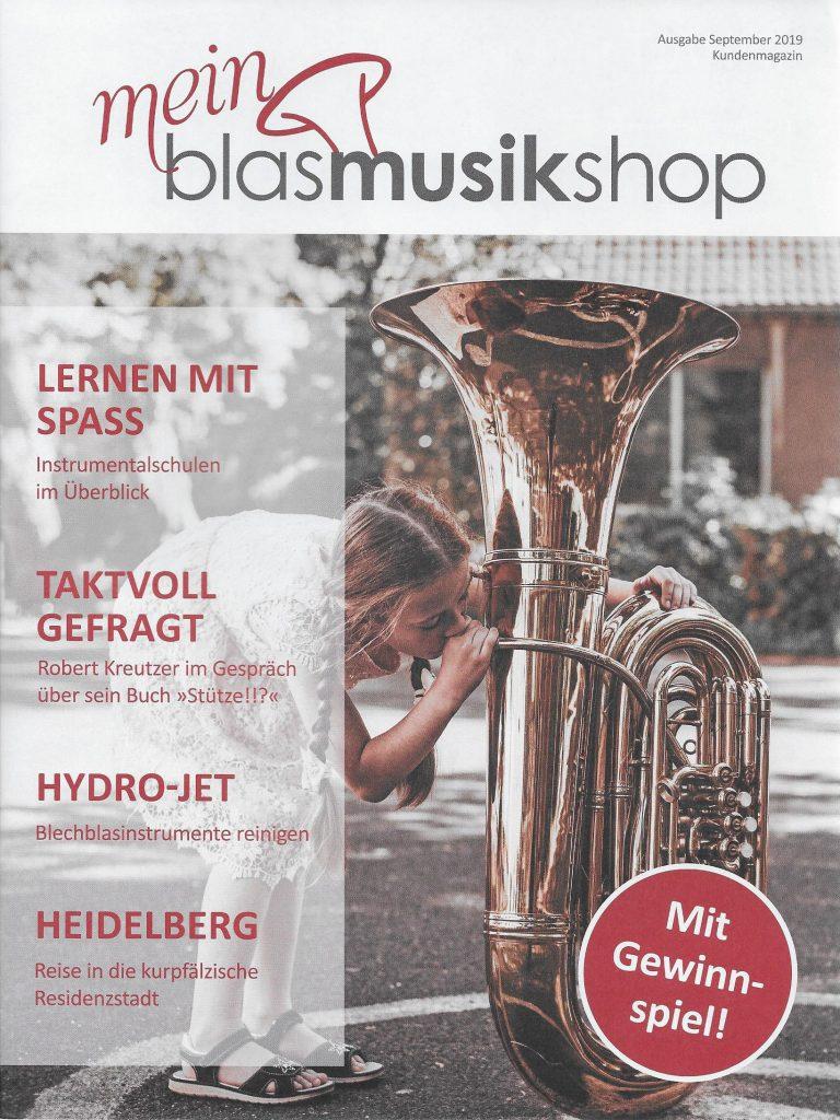 Kundenmagazin: mein blasmusikshop 9/2019
